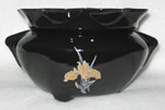 Black-Gold Iris Decal